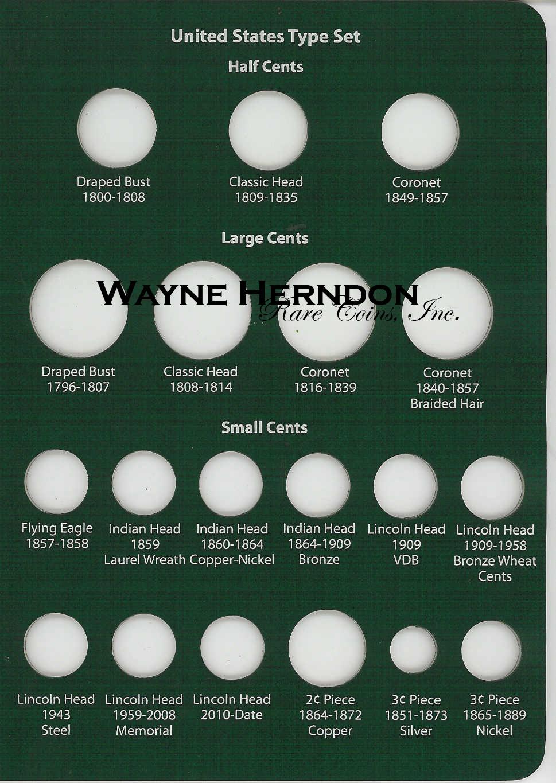 A190 Intercept Shield US Type Album Page 1