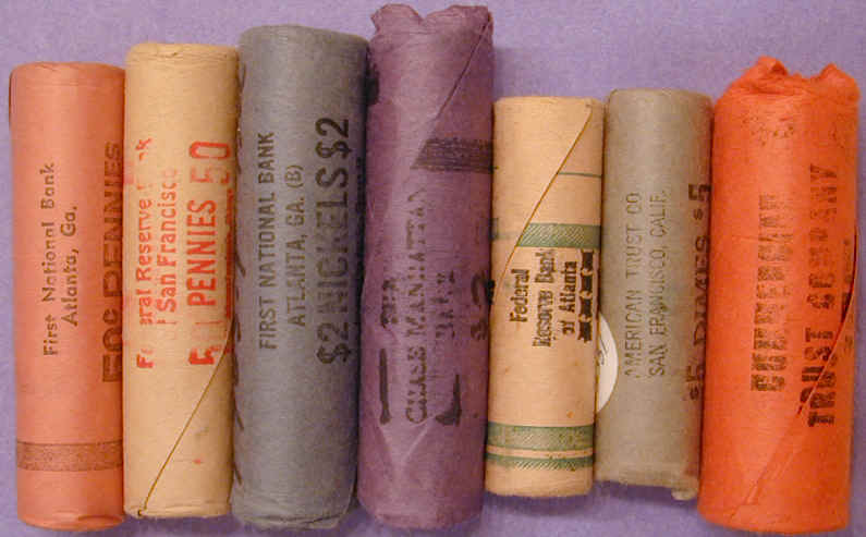 Original Bank Wrapped BU Rolls
